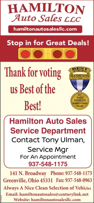 Thank for voting us Best of the Best!