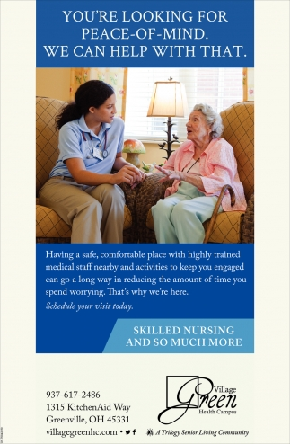 Skilled Nursing and so much more