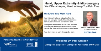 Paul D. Gleason, II MD Orthopedic Surgeon