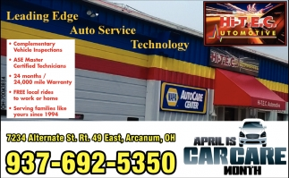 April is carcare month