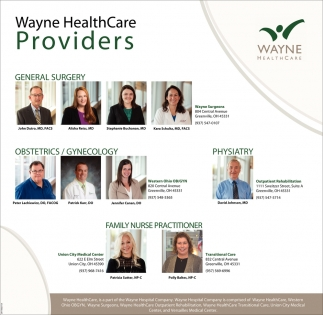 Wayne HealthCare Providers