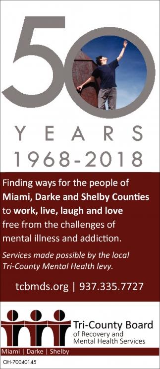 50 years 1968 - 2018