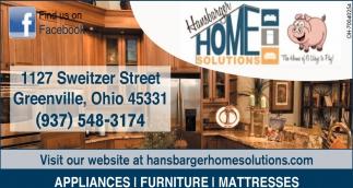 Appliances, Furniture, Mattresses