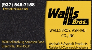 Asphalt & Asphalt Products