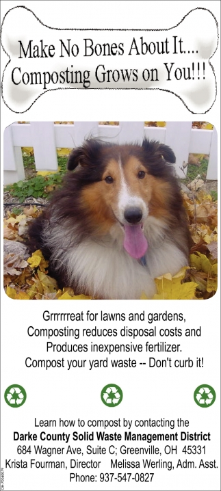 Compost your yard waste