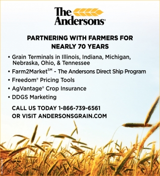 Partnering with farmers for nearly 70 years