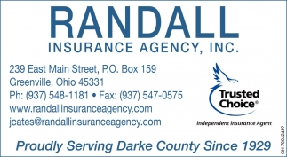 Proudly Serving Darke County Since 1929