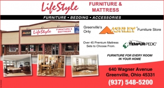 Furniture, Bedding, Accessories