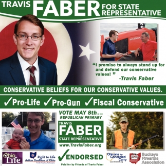 Travis Faber for State Representative