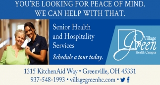 Senior Health and Hospitality Services