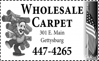 Wholesale carpet, tile, and wood flooring