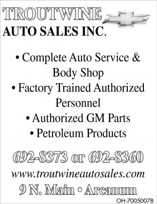 Complete Auto Service & Body Shop