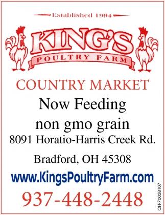 Now Feeding non gmo grain