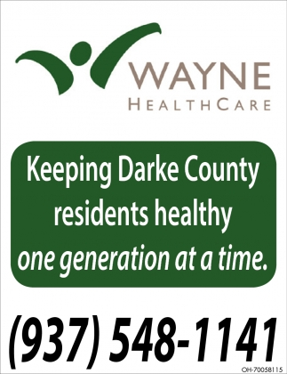 Keeping Darke County residents healthy one generation at a time