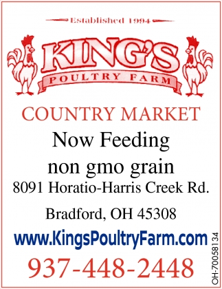 Now Feeding non gmo grain