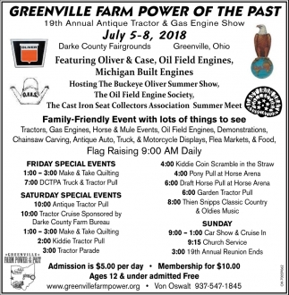 Greenville Farm Power of the Past